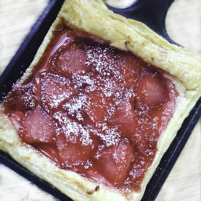 Quick Strawberry Cream Cheese Danish