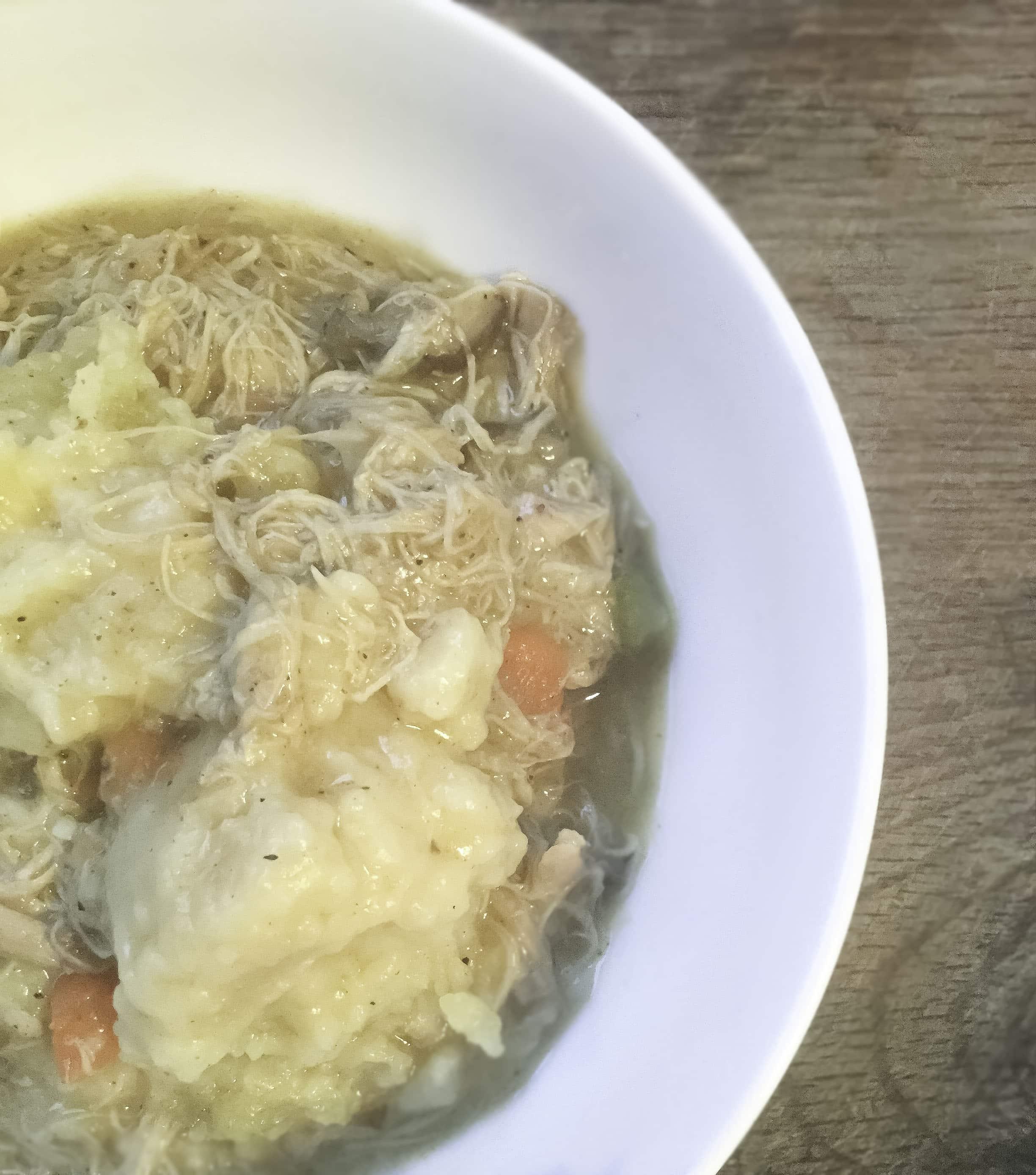 Classic Chicken and Dumpling Stew