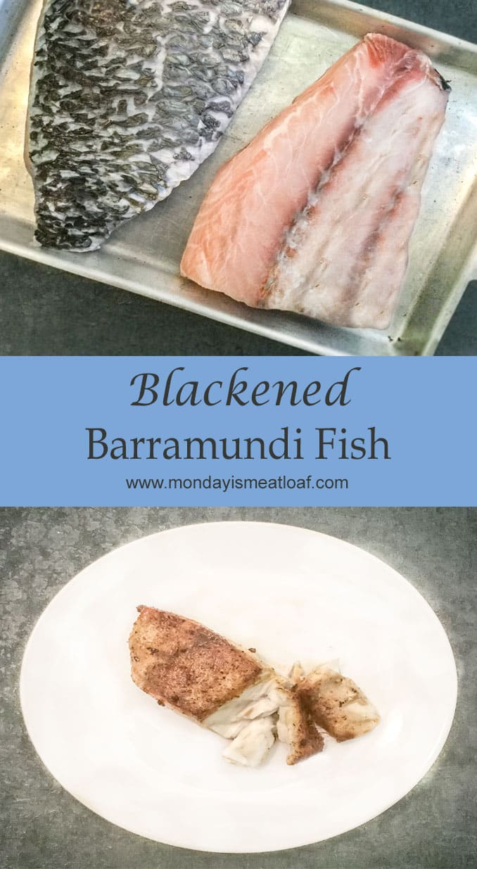 A quick and easy dinner in thirty minutes that leaves you feeling satisfied! Easy blackened Barramundi fish is a tender and delightful fish for a decadent but healthy meal! #blackenedfish #barramundi #quickdinner #easydinner #fishdinner #healthydinner