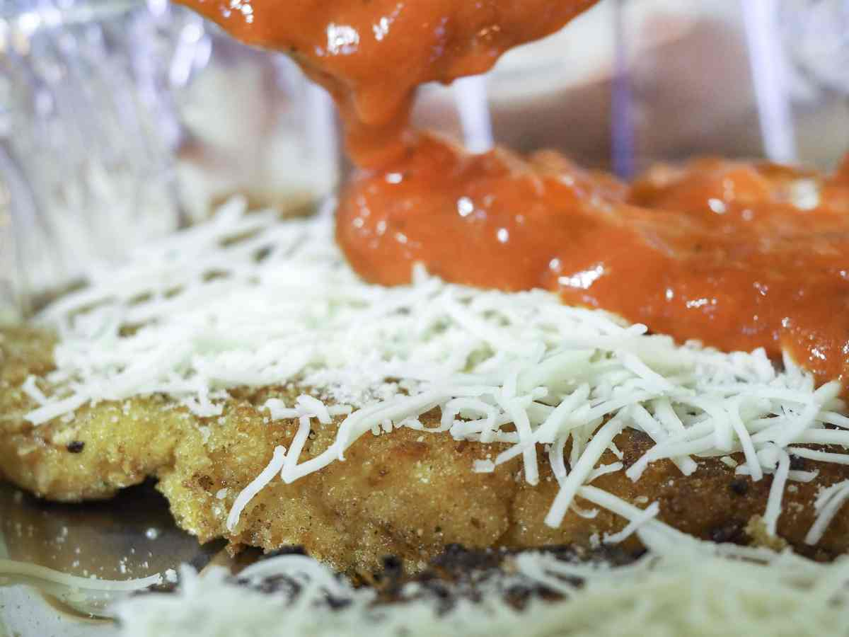 classic chicken parmesan