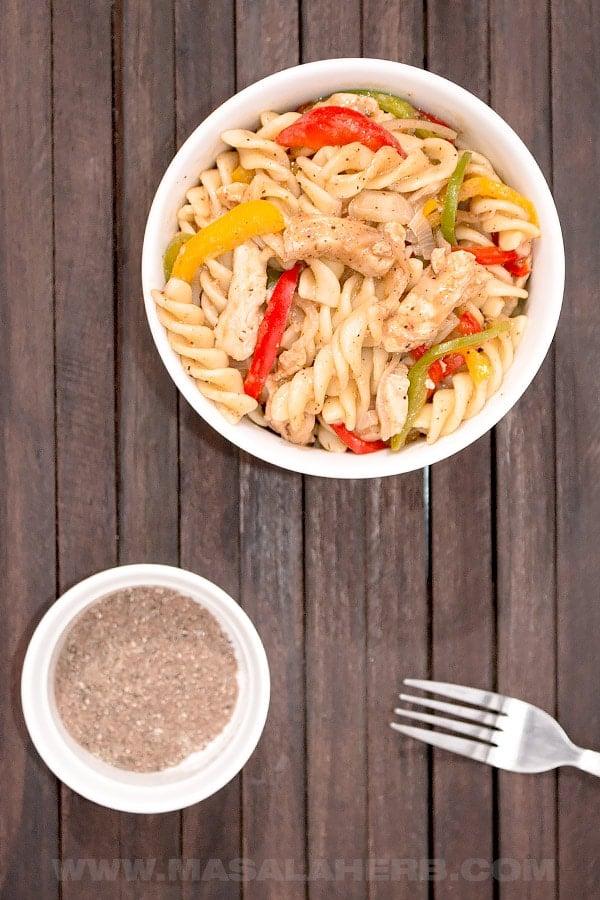 easy rasta pasta recipe