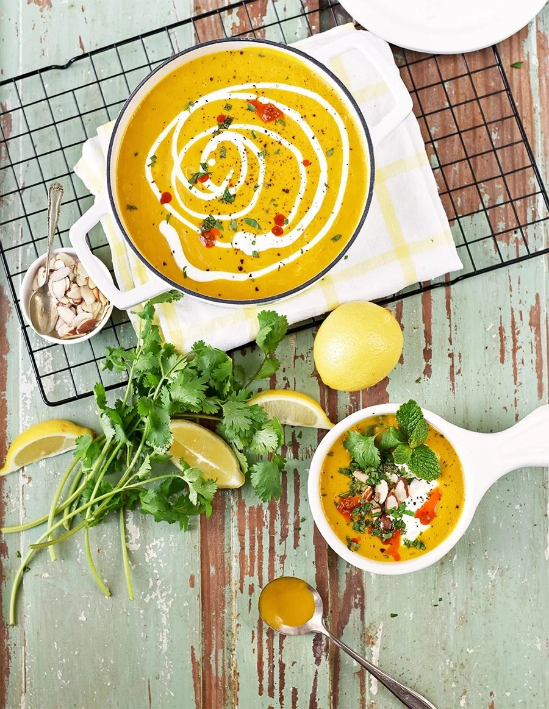 instant pot moroccan sweet potato soup