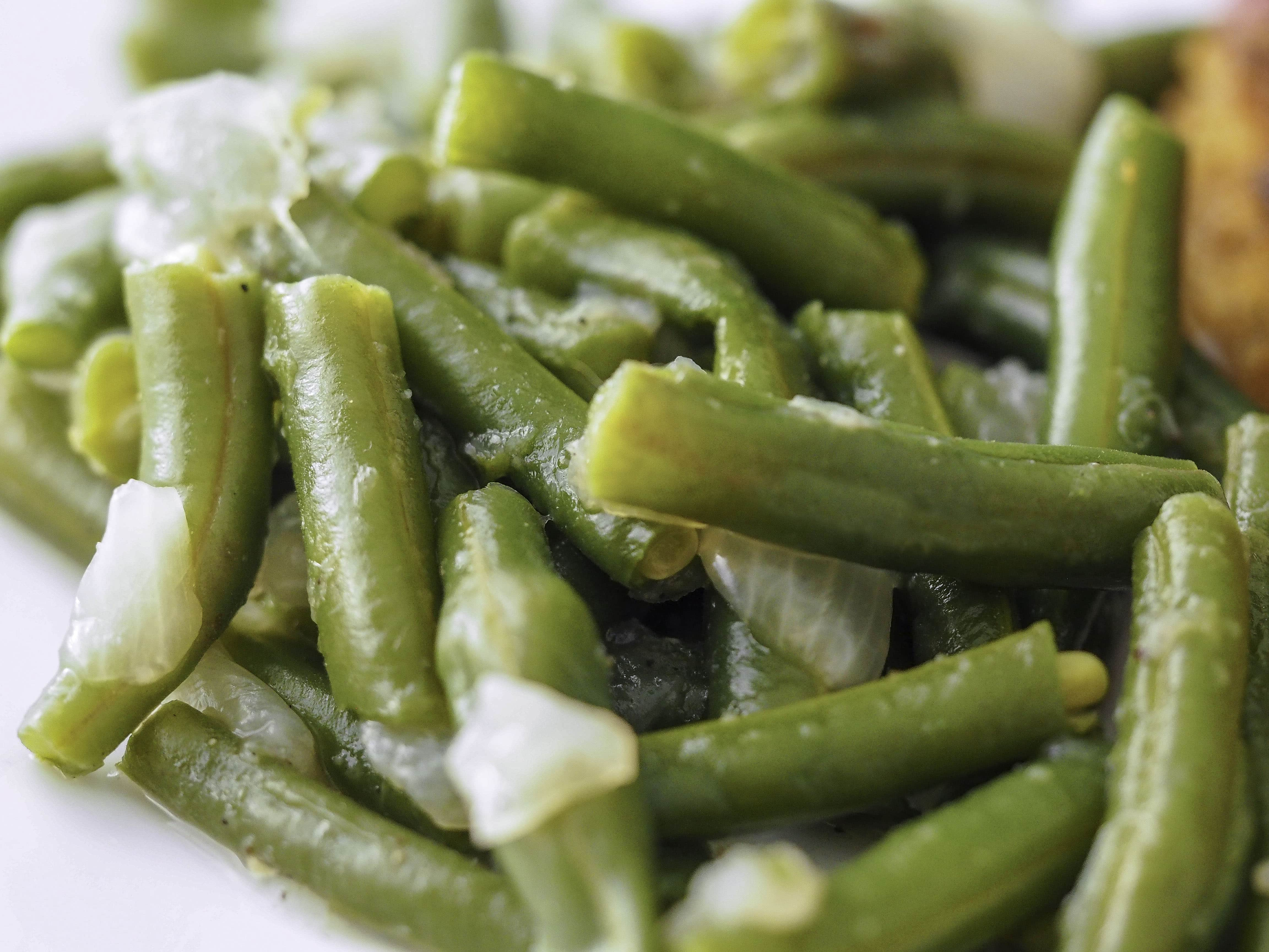 Instant Pot Green Beans with Onions (+Stovetop)