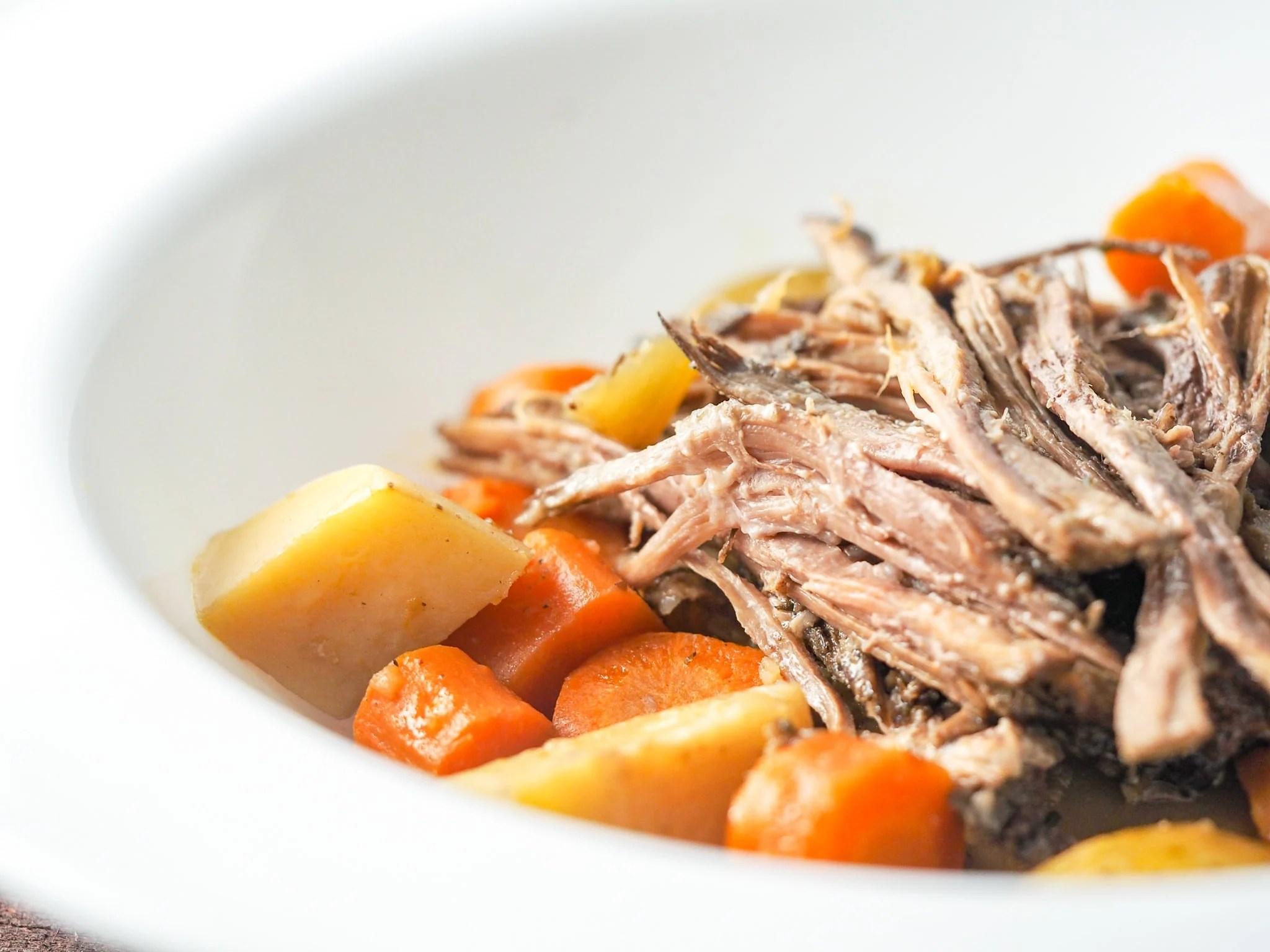 Instant Pot Perfect Pot Roast (+Slow Cooker)