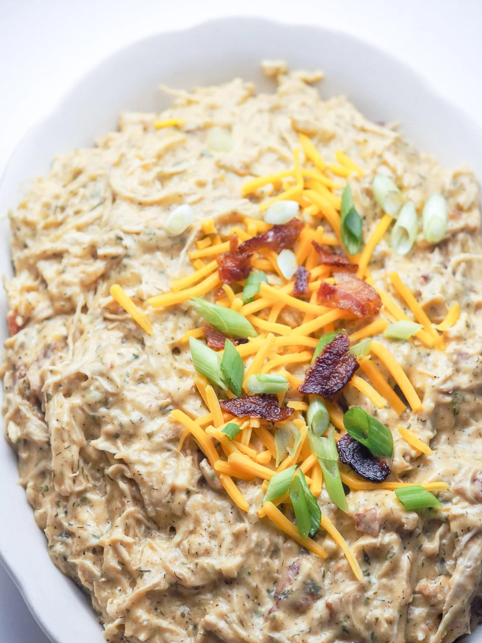 Instant Pot Crack Chicken: Keto, Low-Carb