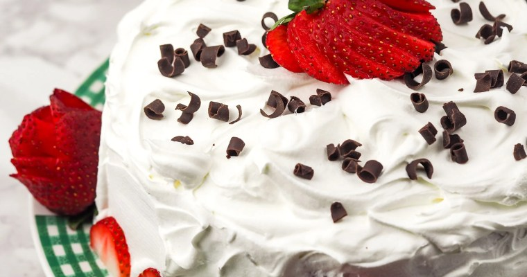 Instant Pot Chocolate Strawberry Cake