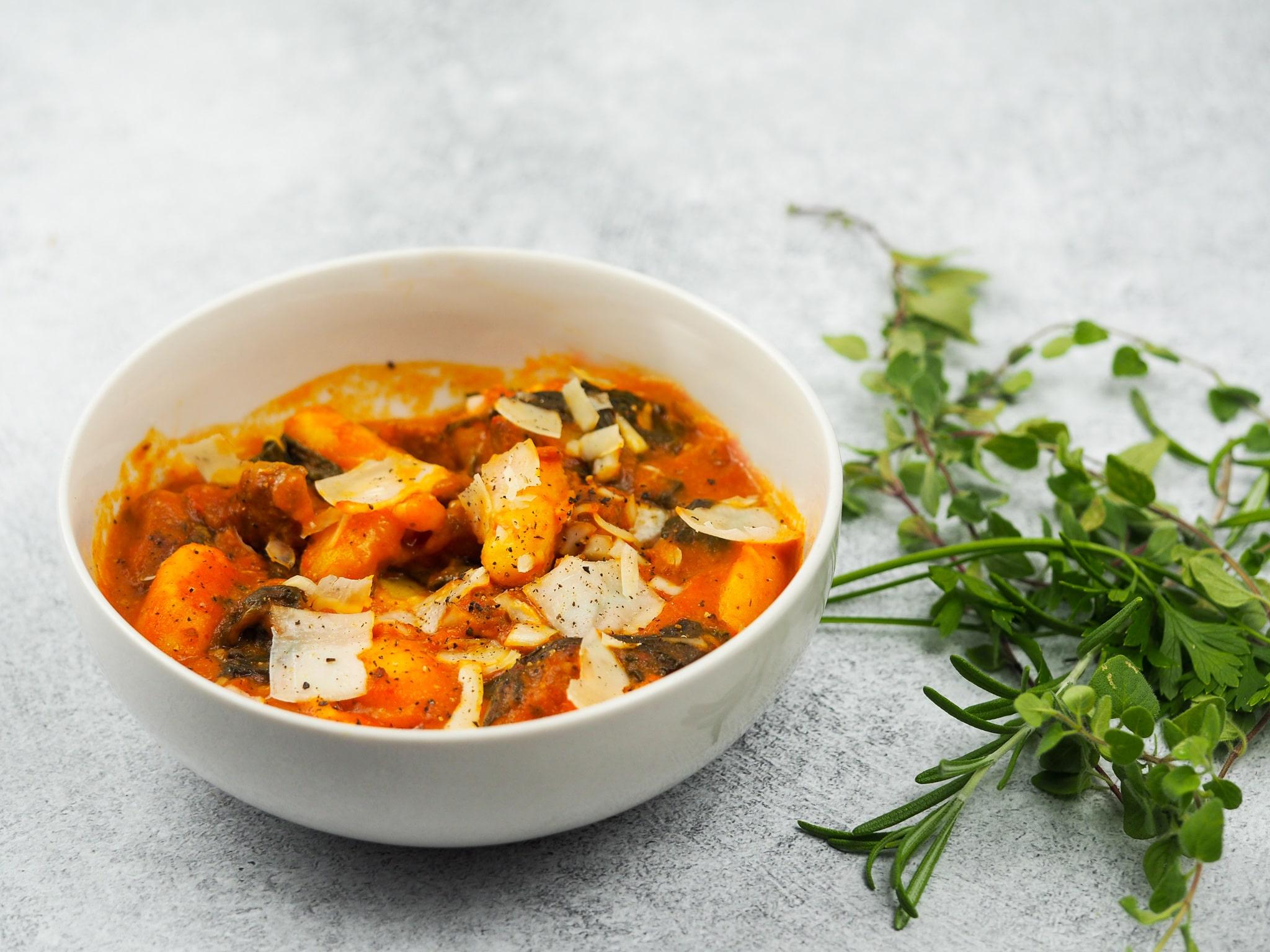 Instant Pot Sausage Gnocchi Soup