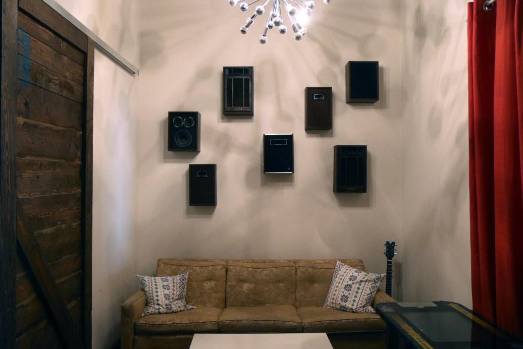 Big wall o' speakers