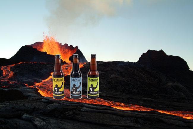 bottles-in-lava