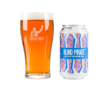 Monday Night Brewing Blind Pirate, a blood orange double IPA.