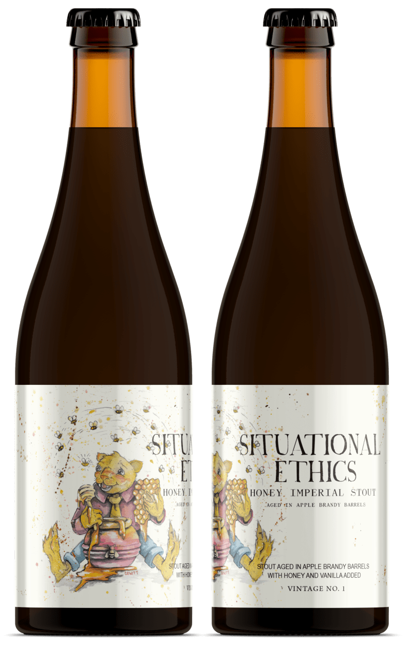 Situational Ethics - Apple Brandy Barrel Aged with honey
