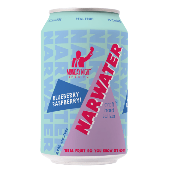 Narwater Hard Craft Seltzer - Blueberry Raspberry