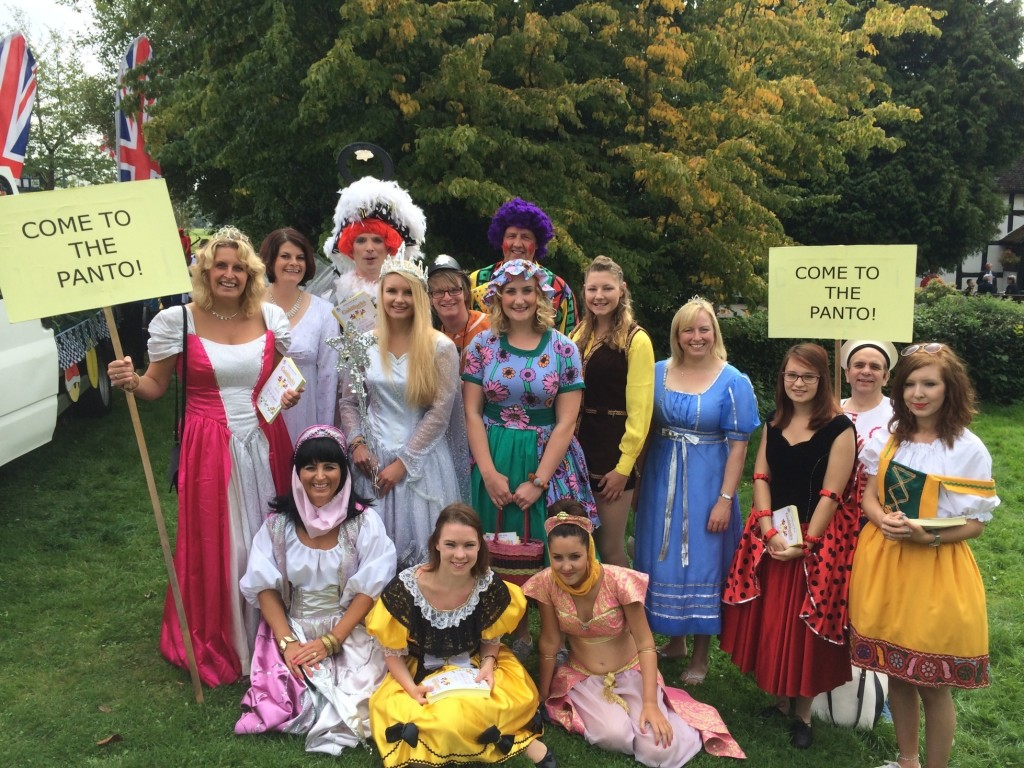 Generic group panto photo- Carnival 2