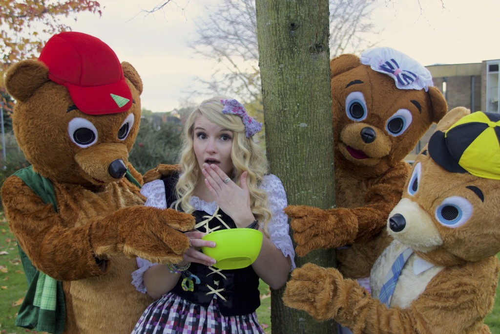Goldilocks Advert Photo