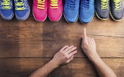 Конструкция беговых кроссовок