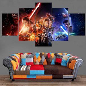 Décoration Murale Star Wars Réveil de la Force