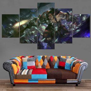 Décoration Murale Warcraft Guerrier Orc