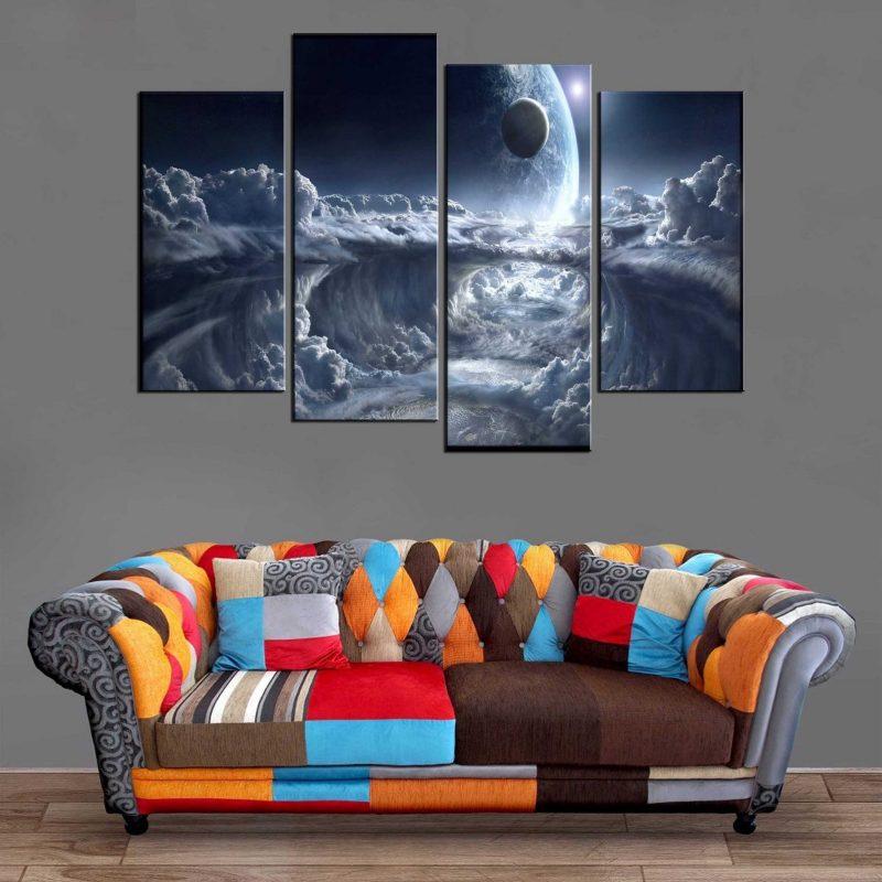 Décoration Murale Paysage Galactique