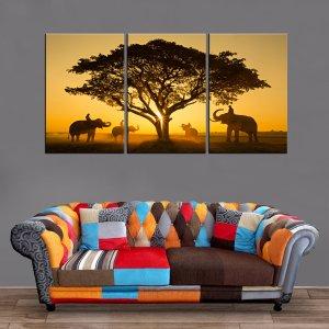 Décoration Murale Savane Africaine