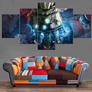 Décoration Murale Avengers Infinity War Gant de L'infini
