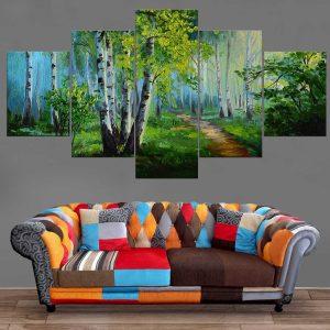 Décoration Murale Paysage Peinture Forêt