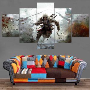Décoration Murale Assasin's Creed Guerre Totale