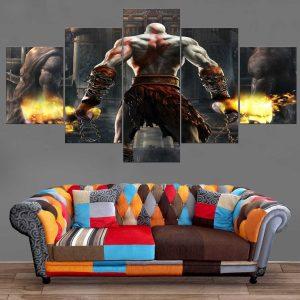 Décoration Murale God Of War Kratos Power