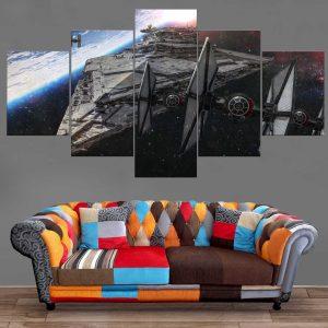 Décoration Murale Star Wars Imperial Star Destroyer