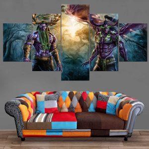Décoration Murale Warcraft Elfe de la Nuit