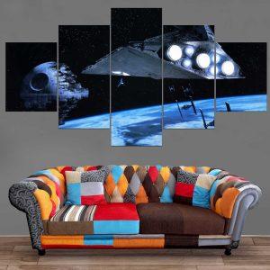 Décoration Murale Star Wars Death Star