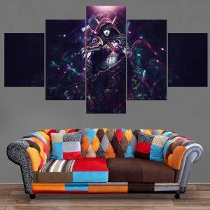 Décoration Murale Warcraft Elfe de la nuit Ranger