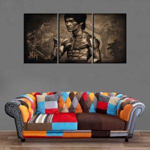 Décoration Murale Bruce Lee