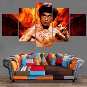 Décoration Murale Bruce Lee Opération Dragon