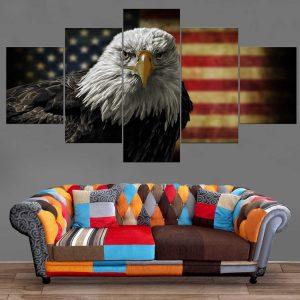 Décoration Murale Drapeau Américain