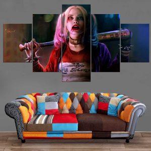 Décoration Murale Suicide Squad Harley Quinn