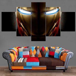 Décoration Murale Avengers Iron Man Face