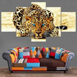 Décoration Murale Peinture Jaguar