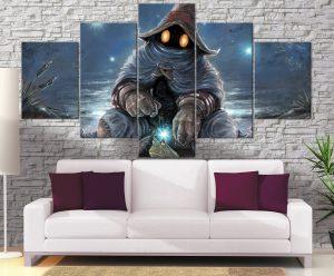 Décoration murale Final Fantasy 9 Bibi Power