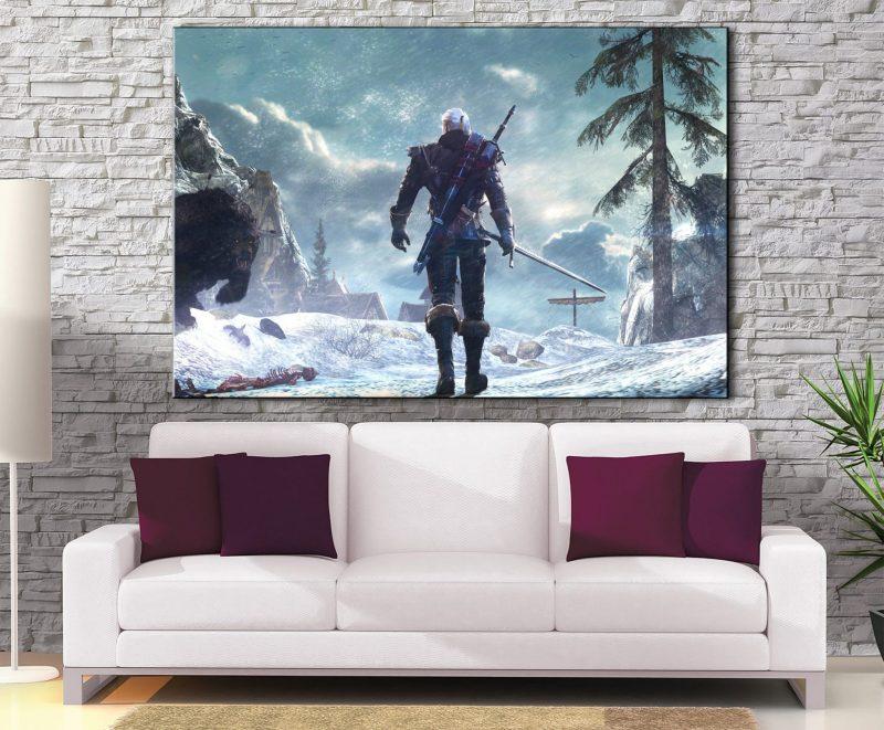 Décoration murale The Witcher Geralt