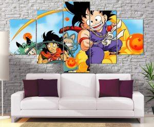 Décoration Murale Dragon Ball Goku Beginning