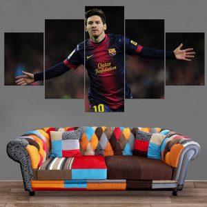 Décoration Murale Football Lionel Messi