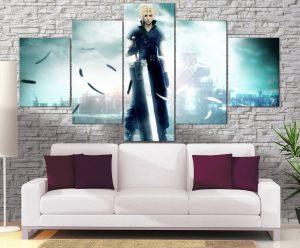 Décoration Murale Final Fantasy Advent Children Cloud
