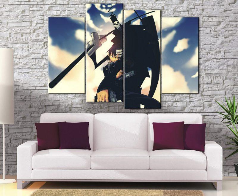 Décoration Murale Soul Eater Death The Kid X Death
