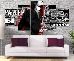Décoration Murale Death Note Kira Plans