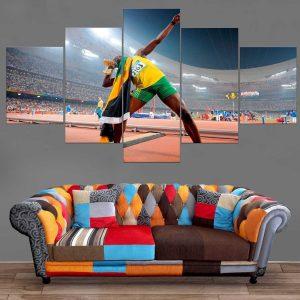Décoration Murale Athlétisme Usain Bolt