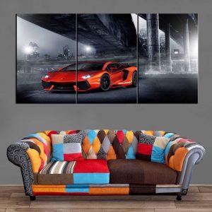 Décoration Murale Voiture Ferrari