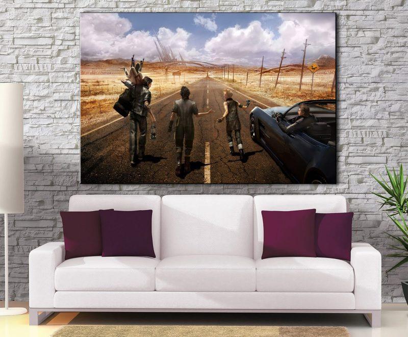 Décoration murale Final Fantasy 15 Beginning