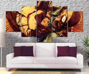 Décoration Murale One Punch Man Saitama Power