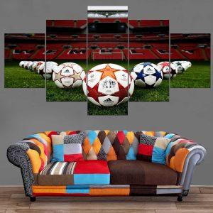 Décoration Murale Football Wembley Stadium