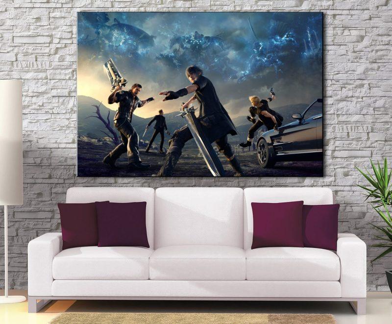 Décoration murale Final Fantasy 15 Battle